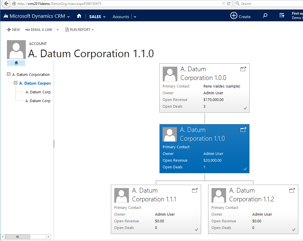 CRM 2015 Hierarchies are cool!