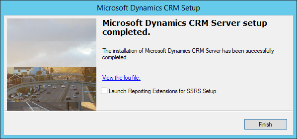 CRM-2015-Installation-Complete